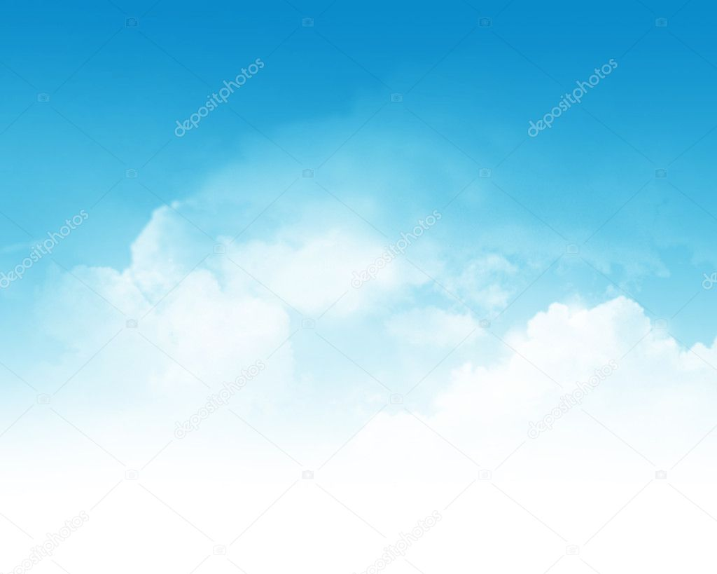 Cloudy sky abstract background
