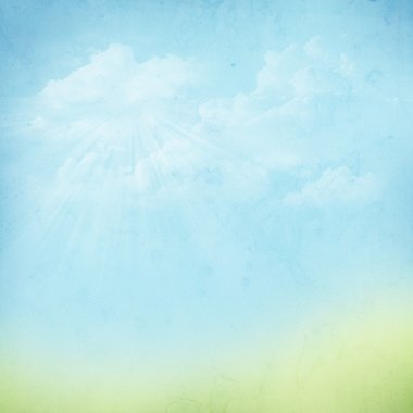 Vintage abstract nature background
