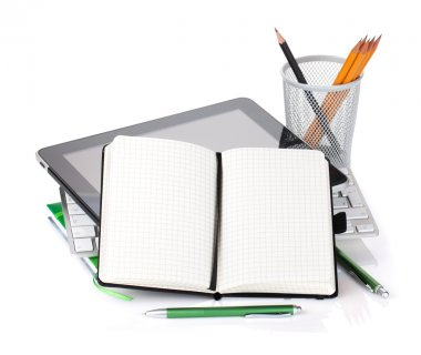 Office supplies and gadgets