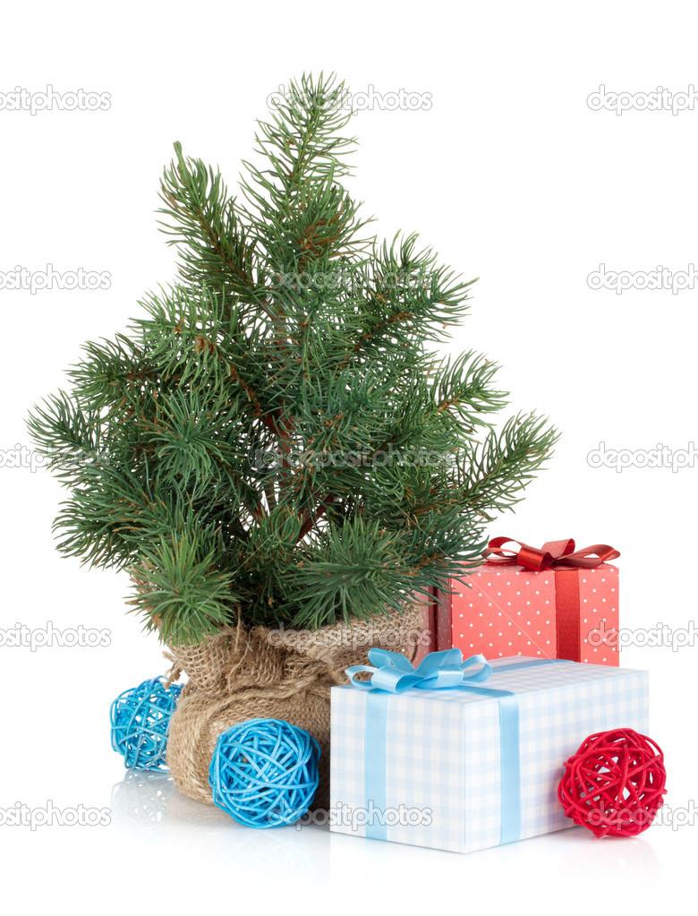 Nep Mini Kerstboom Stockfoto C Karandaev 30029193