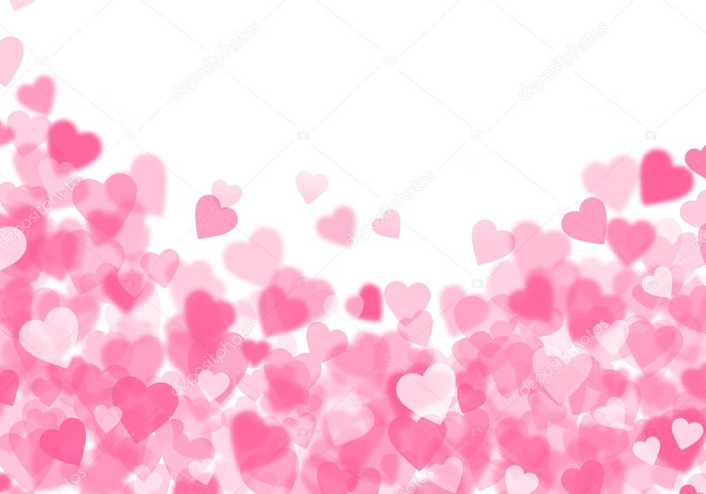 Valentine S Day Pink Hearts Background Stock Photo C Karandaev