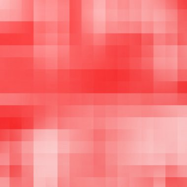 Abstract red geometric pixel background
