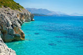 Fotografie Rocky Adriatic coast with a clear blue sea