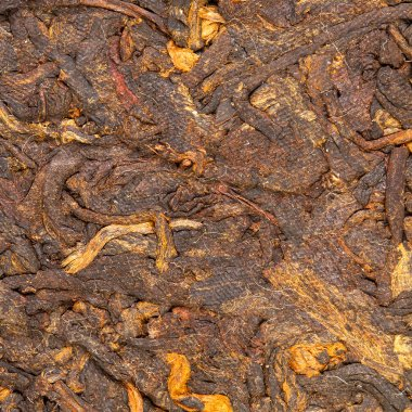 Pressed Chinese puer tea