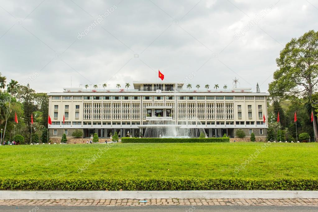 Reunification Palace (Independence Palace) in Ho Chi Minh City, Vietnam