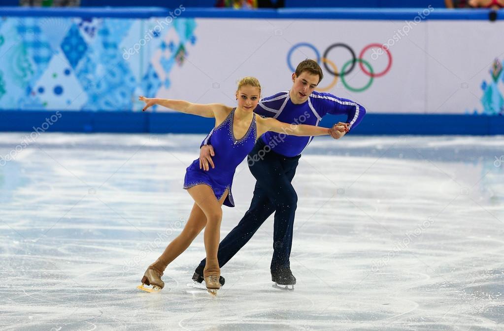 Figure Skating. Pairs Short Program