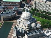 Fotografie Letecký pohled na boston centra