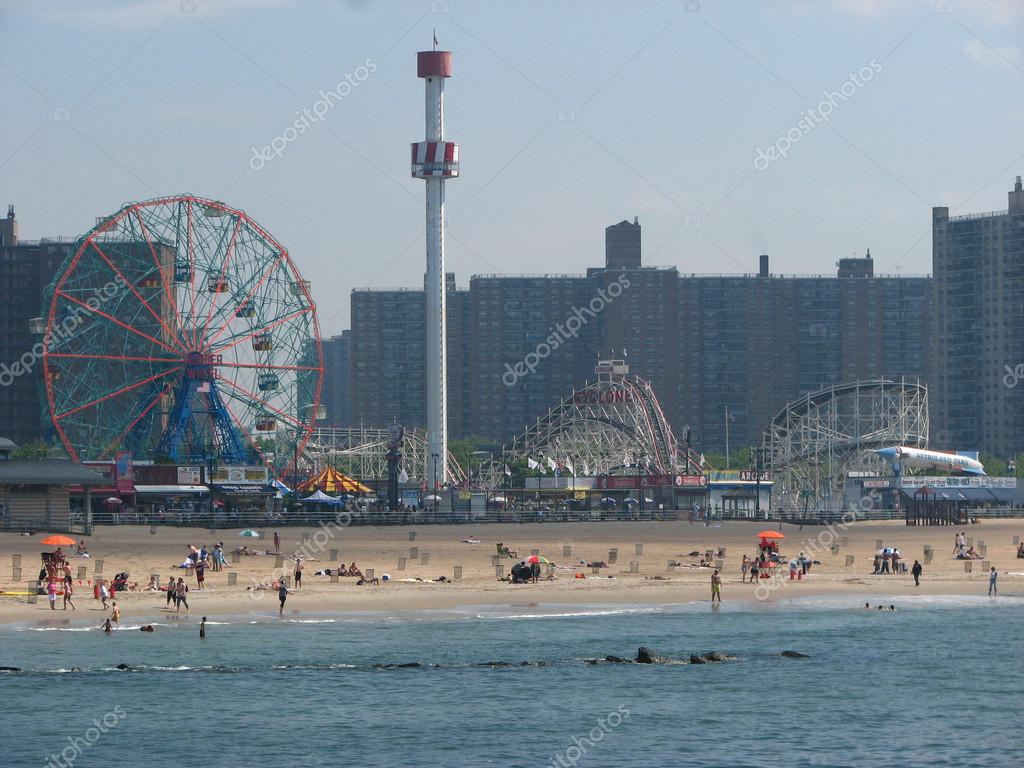 BROOKLYN, NEW YORK - JUN 16: Coney Island known for its boardwal