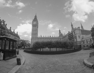 Westminster with Big Ben Tower in London