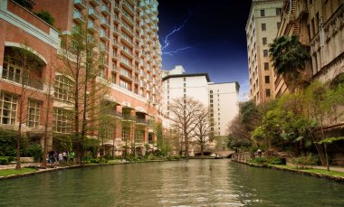 River and Buildings of San Antonio
