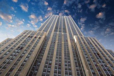 New York City : Empire state building facade