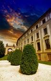 Pražský hrad detail a zahrady