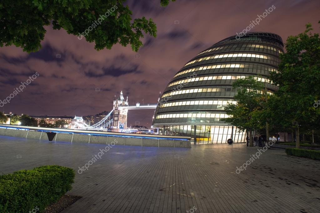 Google Hoofdkwartier Londen : Londen 28 sep: london city hall hoofdkwartier van londen