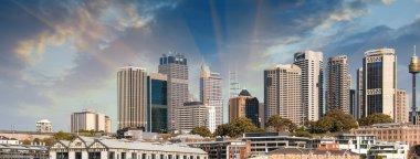 Skyscrapers of Sydney Harbour in Port Jackson