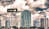 Fotografie Tall Buldings of Miami in Florida