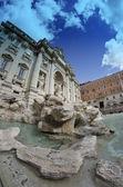 Fotografie fontána di Trevi, Řím