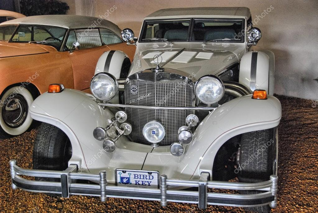 SARASOTA, FL - JAN 5: Beautiful old cars inside the Museum, Janu ...