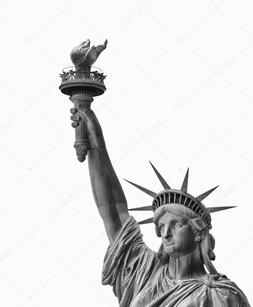 ede404f6cdf74 Statue of Liberty, Face and Torch — Stock Photo © jovannig #31047467