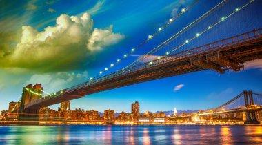 The Brooklyn Bridge Park, New York.