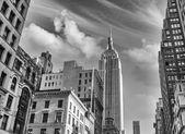 Fotografie ニューヨーク市。通りからの都市の建物のビュー
