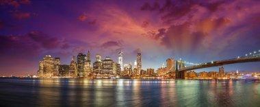 New York City Manhattan skyline p