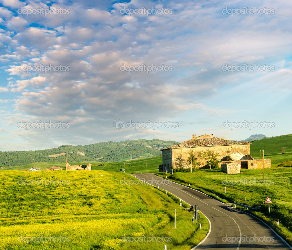 Tuscany - Landscape panorama