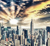 atemberaubende Skyline von New York