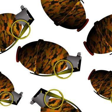 hand grenade pattern