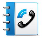 Fotografia icona telefono vettoriale