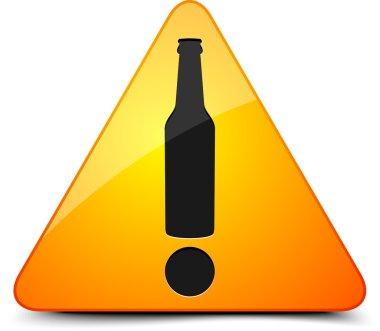 Beer Warning Sign