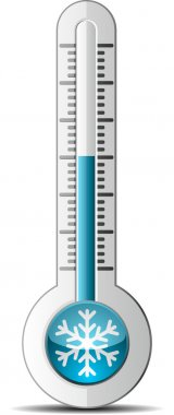 Thermometer clip art vector