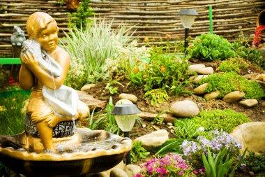 Lanscape design of the home garden