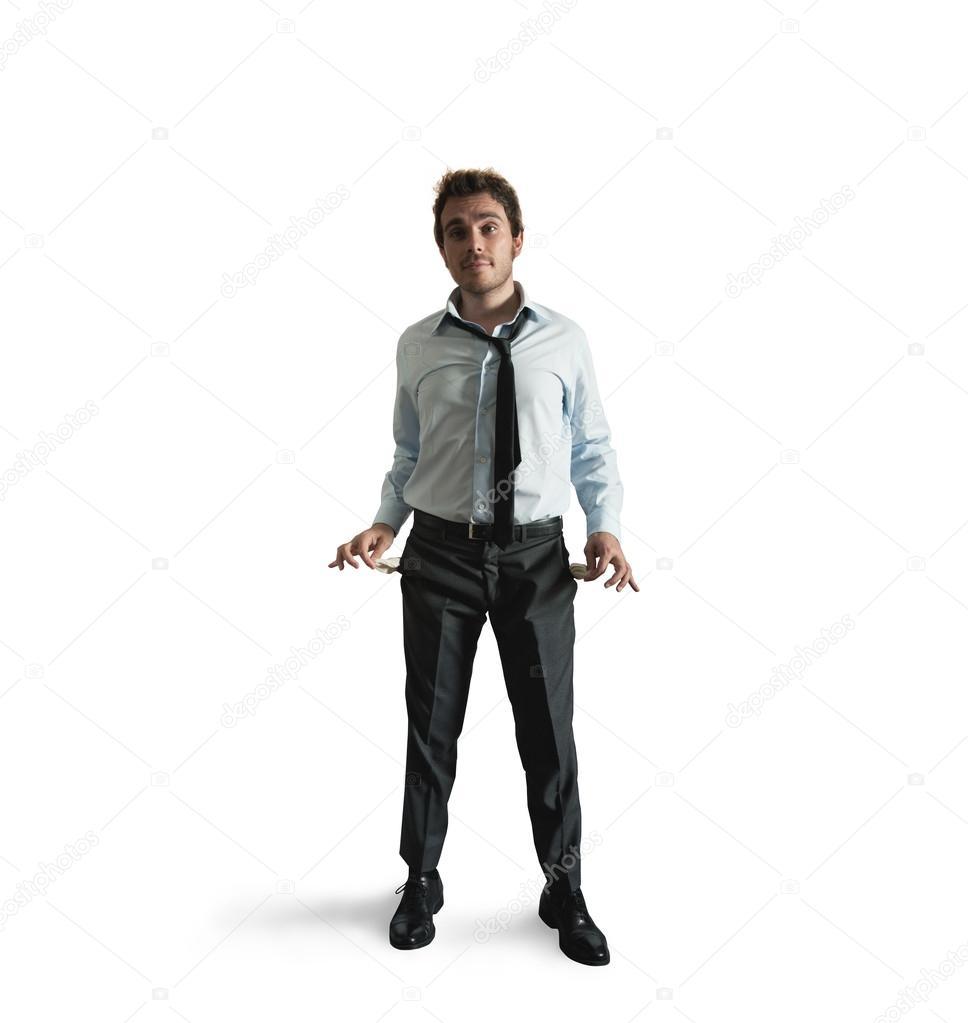 Hombre De Negocios Sin Dinero Stockfoto Alphaspirit 12587971