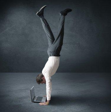 Acrobatic work