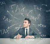 Fotografie Tax problem