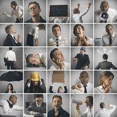 Fotografie koncept podnikání, krize a problém