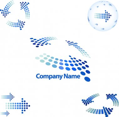 Arrow style corporate identity