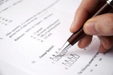 Make a test exam