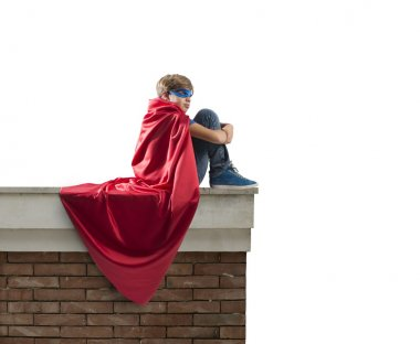 Superhero kid.