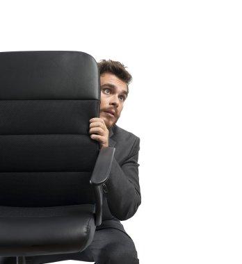 Fear of businessman