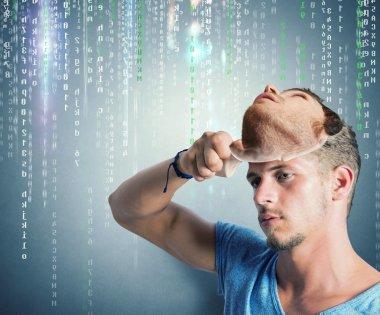 Hidden identity of a hacker