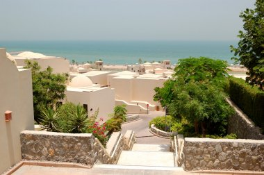 Holliday villas at the luxury hotel, Ras Al Khaimah, UAE
