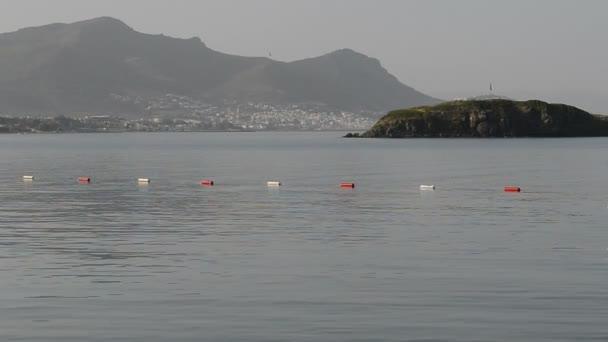 Türk resort, bodrum, Türkiye'de sahilde kaydırma