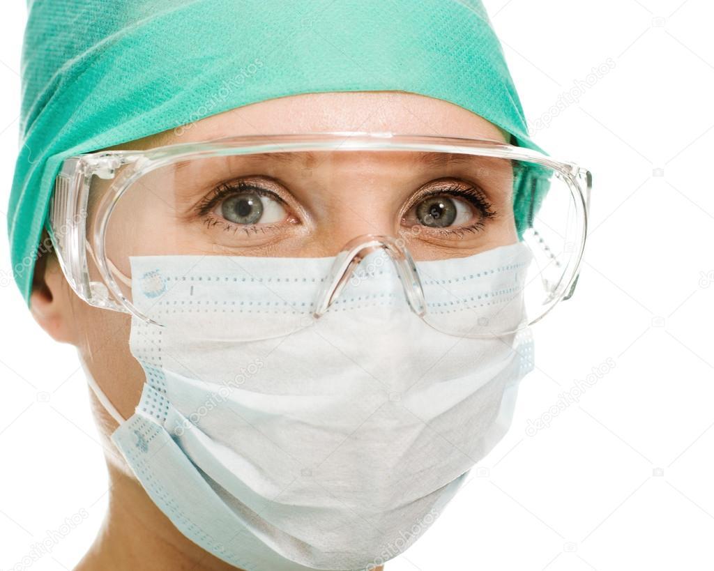 Стоматолог какой повязкой пользуется для защиты
