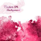 Vektor Wave in Aquarell technique.grunge background.drop rote abstrakte Aquarell sieht aus wie Wein splash