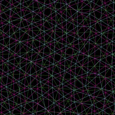 Seamless pattern looks like interweaving of the lines