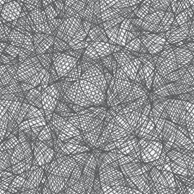 Seamless pattern looks like interweaving of the lines.
