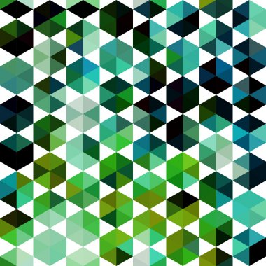 Retro pattern of geometric shapes. Colorful mosaic banner. Geome