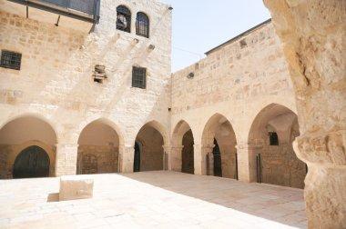 Last supper church in Jerusalem