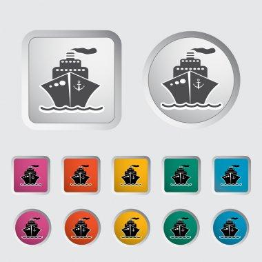 Ship icon.